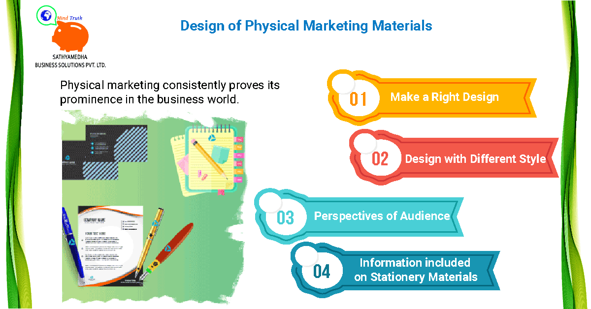 Design of Physical Marketing Materials